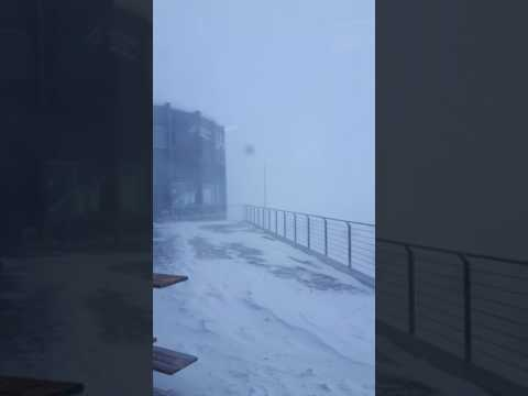 Flims/Laax storm on crap sogn gion 130kmh