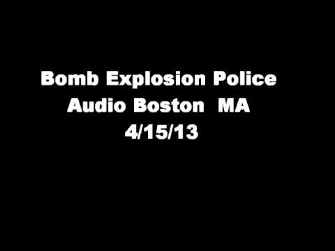 Boston Marathon Bombing Police Audio 4/15/13