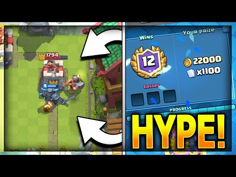 12-0 UNDEFEATED GRAND CHALLENGE DECK!! Consecutive 12 Win Grand Challenge Runs In Clash Royale
