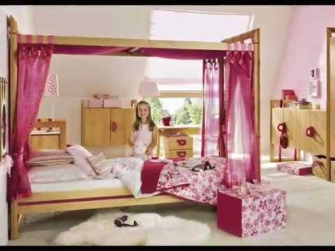 tempat tidur putri untuk kamar tidur anak perempuan youtube