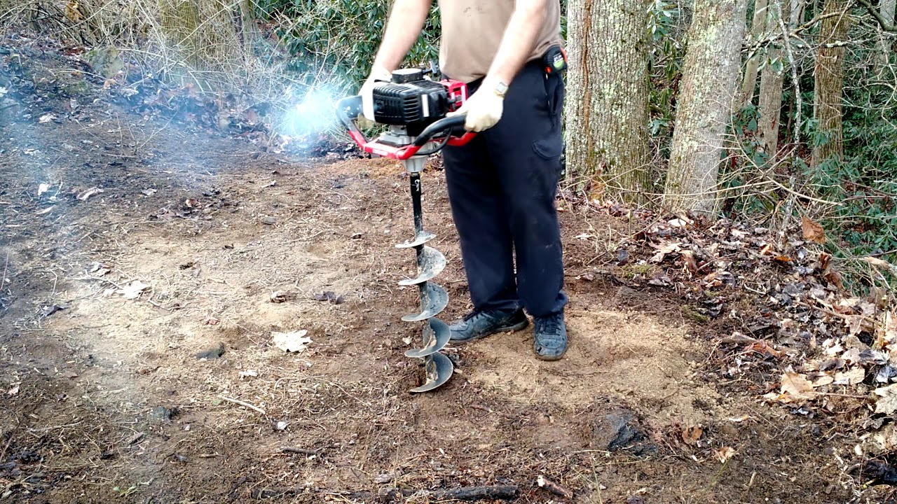 Harbor Freight Predator Auger 2 Years Later A Demo And Long Term Review Youtube