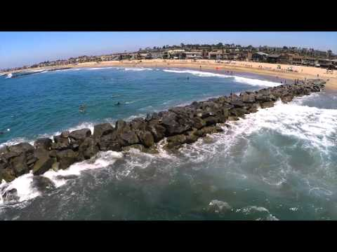 Surfing in LA: Road to Huntington Beach