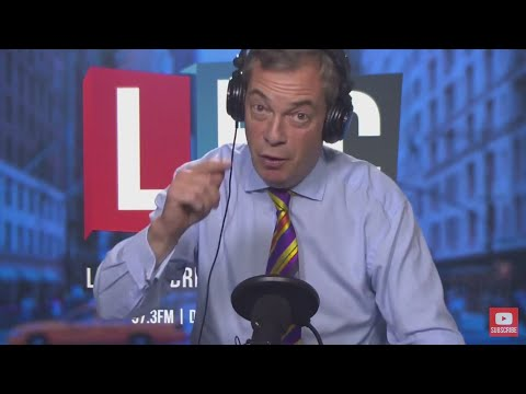 The Nigel Farage Show: Is the Spanish Government's behavior acceptable?  LBC - 2nd November 2017
