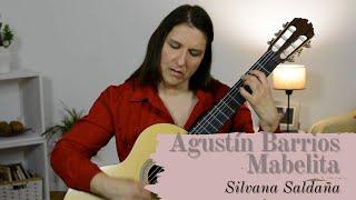 Agustin Barrios Mabelita. Silvana Saldaña. 2020