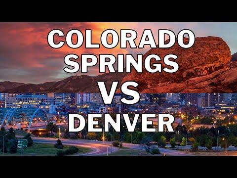 Colorado Springs Vs Denver {Moving To Colorado}