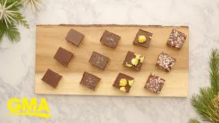 25 Days of Cookies: Jamie Oliver's 'Billionaire Shortbread' cookie recipe l GMA Digital