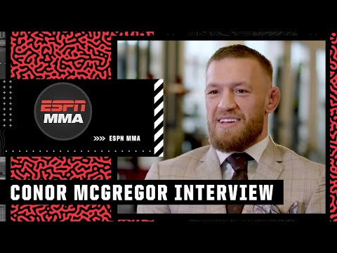 Stephen A. interviews Conor McGregor on expectations for the Dustin Poirier trilogy fight   ESPN MMA