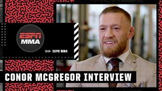 Stephen A. interviews Conor McGregor on expectations for the Dustin Poirier trilogy fight