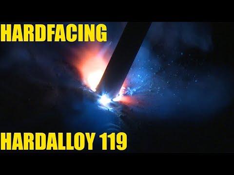 🔥 Hardfacing with Hardalloy Stick Electrode