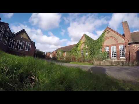 Abandoned Longlands School Stourbridge 1.2.2016 (music)