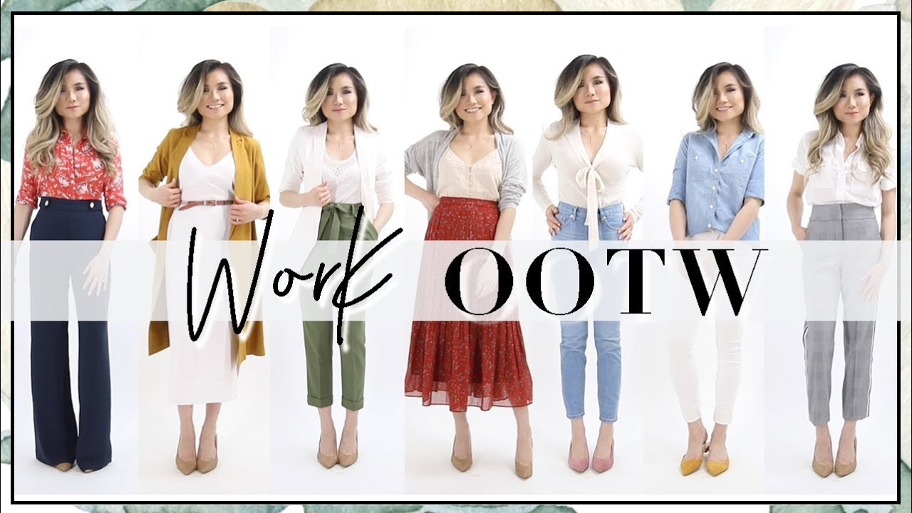 Spring Summer Work Outfits of the Week Fashion Lookbook
