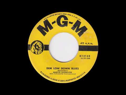 Marvin Rainwater Dem Low Down Blues  MGM K12152
