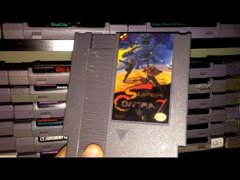 Super Contra 7 (NES) James & Mike Mondays
