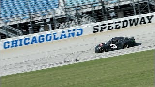 Drivers test at Chicagoland Speedway