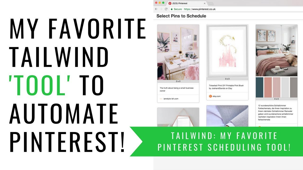 Pinterest Marketing How To Use Tailwind S Chrome Extension To