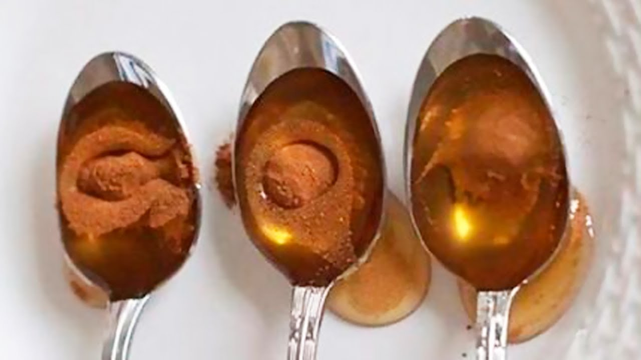 Eat 1 Tsp of Honey and Cinnamon a Day For This Amazing Health Benefits