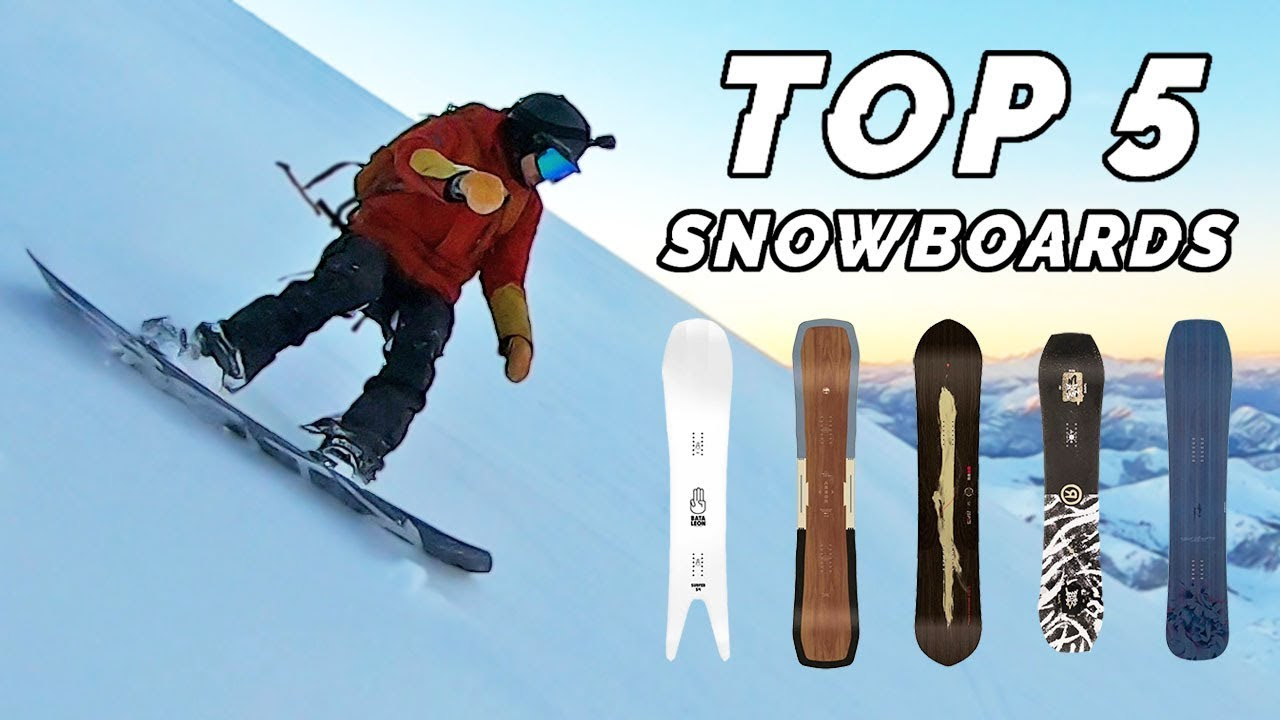 Snowboarding At The 2020 Olympic Winter Games.Top 5 Snowboard Picks 2020 Personal Favorites