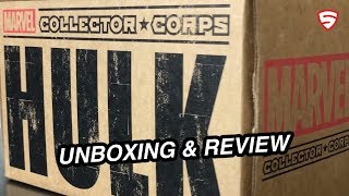 Marvel Collector Corps - Hulk unboxing and review