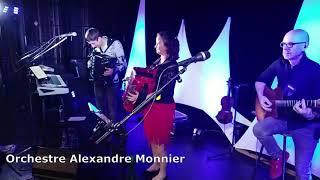"""Orchestre Alexandre Monnier   Tango """" nueve de julio"""" accordéons en duo.enregistré live à vallet 44"""