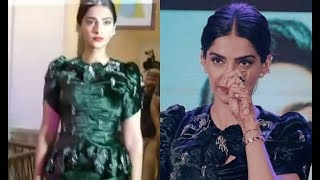 Sonam Kapoor walks down the stage at Veere Di wedding movie's music launch