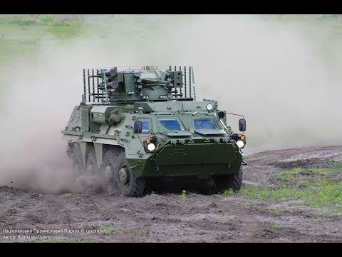BTR-4E BTR-4 review wheeled armoured vehicle personnel carrier Ukraine defense industry