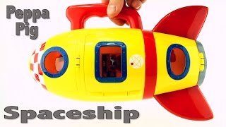 Peppa Pig Spaceship Toy, George, Danny Dog, Daddy Pig, Miss Rabbit