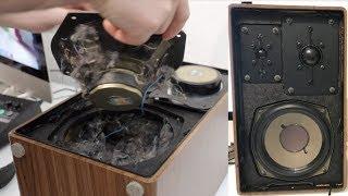 Grundig HiFi Box 600 - A Look Inside , What's Inside