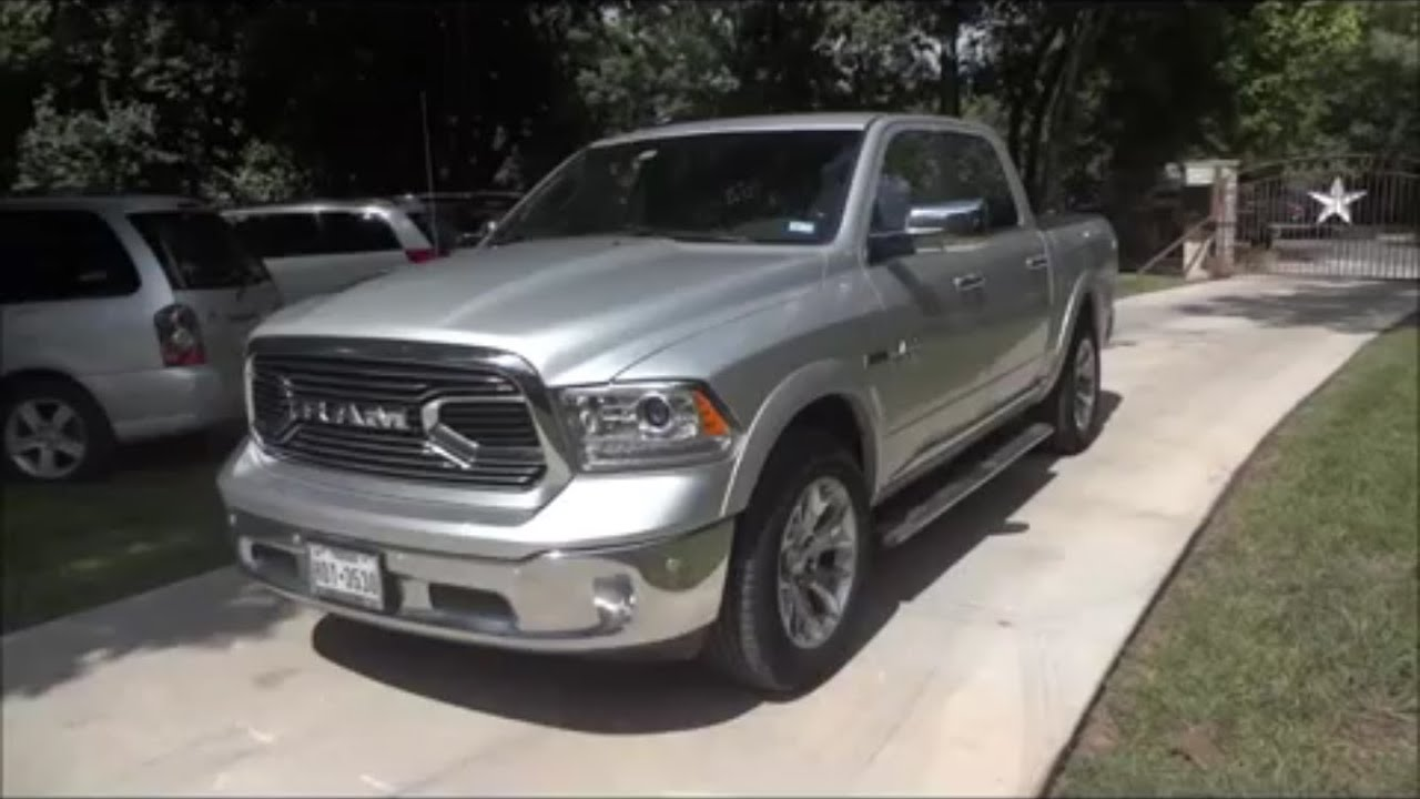 Ram 1500 Ecodiesel For Sale >> 2016 (Dodge) Ram 1500 Limited Ecodiesel Review - YouTube