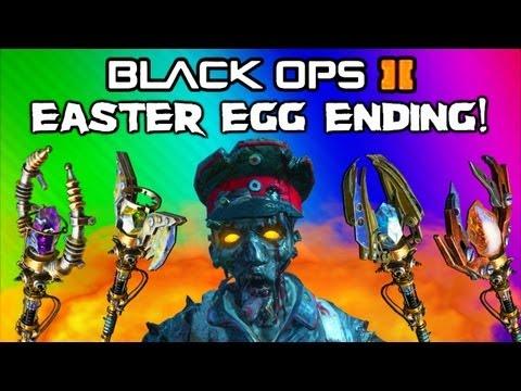 Black Ops 2 Origins Zombies Easter Egg Ending (Cutscene & Last Steps Complete / Release Samantha)
