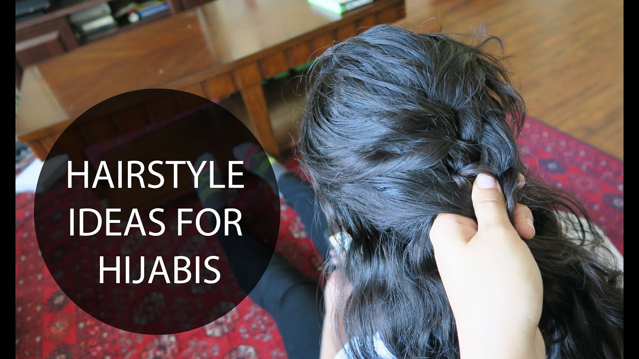 easy hairstyle ideas for hijabis hijab hair tutorial