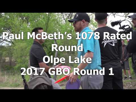 McBeast Mic'd Up - Paul McBeth's 1078 Rated 2017 GBO Round 1