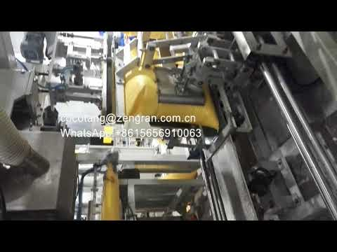 Auto Weighing filling stitching bagging machine for 50Kg Fertilizer in preformed woven bags