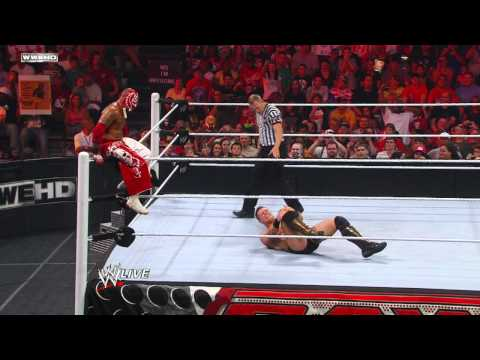 Raw: Rey Mysterio vs. The Miz - WWE Championship Tournament