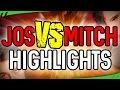 HIGHLIGHTS EERSTE SEIZOENSHELFT! - Jos VS Mitch (F1 2016)