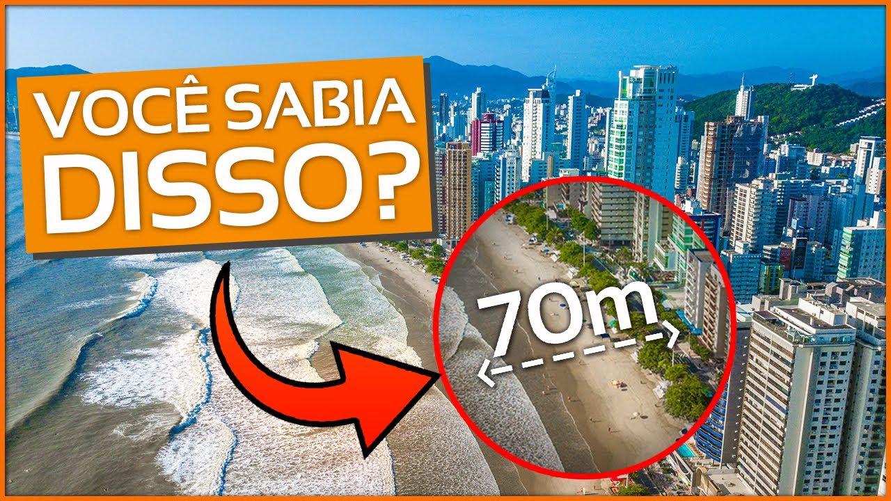 Obra de alargamento da praia de Balneário Camboriú