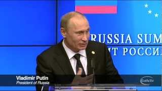 "Putin slams Barroso: ""You know you are wrong, you"
