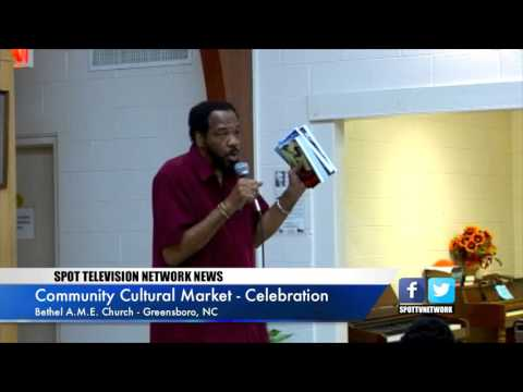Greensboro Cultural Market - Dr. Bruce Bridges - African History and Culture
