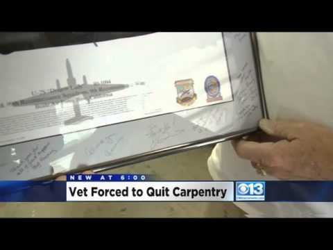 Homeowners Association Won't Allow Vet to Build Furniture For Needy Military Families