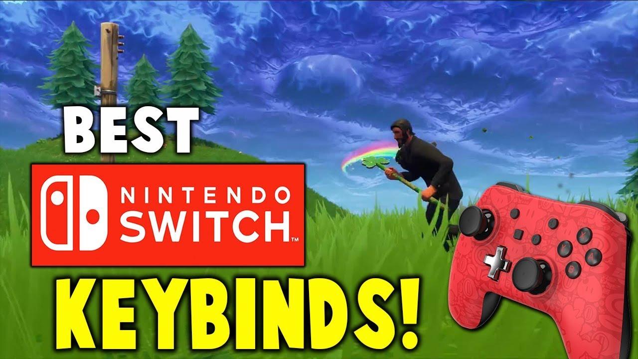 Best Nintendo Switch Fortnite Controller Settings - KeenGamer
