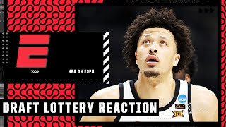 Reaction to the 2021 NBA Draft Lottery: Will Cade Cunningham go to Pistons?   NBA on ESPN