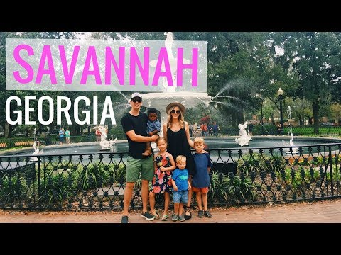 🍊EXPLORING SAVANNAH GEORGIA! 🍊FULLTIME TRAVELING RV FAMILY OF 6