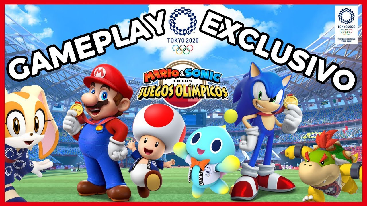 Deportes De Mario Sonic En Los Juegos Olímpicos Tokio 2020 Gameplay Exclusivo Youtube