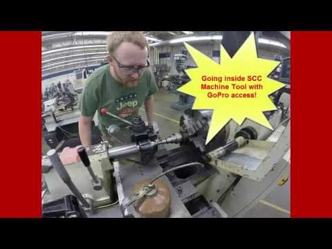 Machine Tool Technology videos with GO Pro at Spartanburg Community College