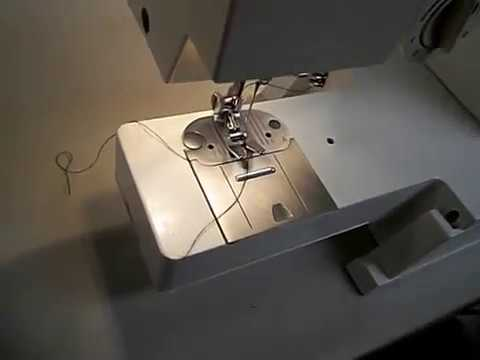 Singer 40C Sewing Machine Demo YouTube Impressive Singer Sewing Machine 57817c