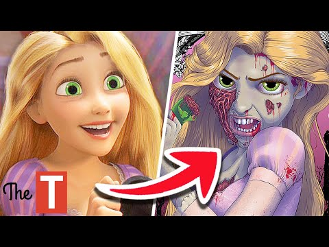 10 Disney Princesses Reimagined As Monsters