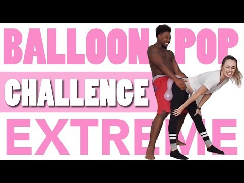 BALLOON POP CHALLENGE (Extreme!!!)