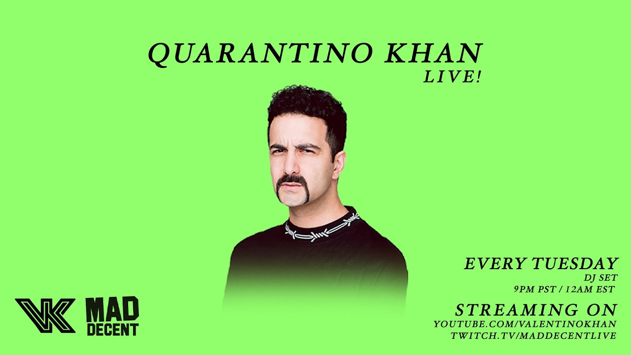 The Quarantino Khan Show Live (Livestream #8)