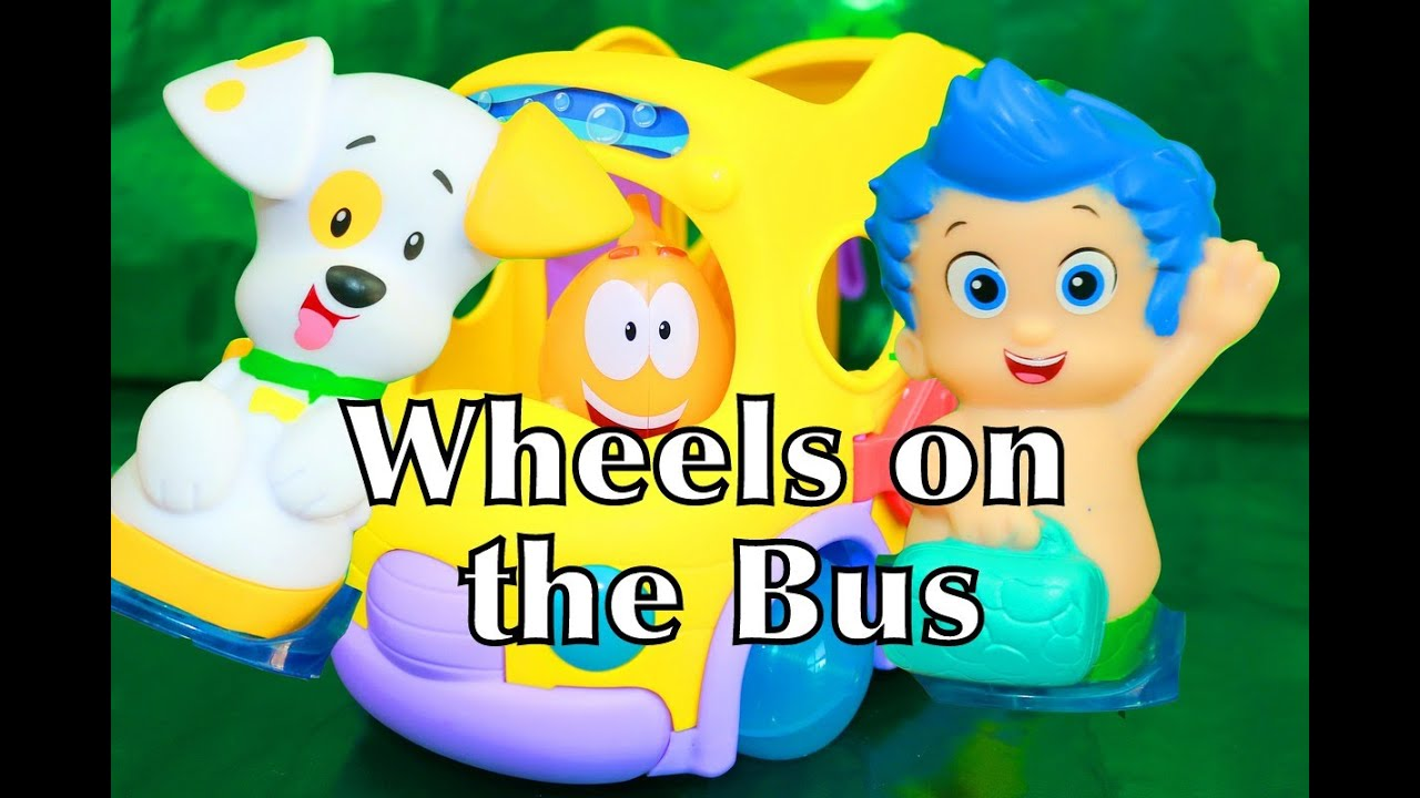 WHEELS ON THE BUS ? SONG Bubble Guppies Toy u0026 Gil Mr. Grouper - YouTube & WHEELS ON THE BUS ? SONG Bubble Guppies Toy u0026 Gil Mr. Grouper ...