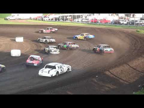 IMCA Hobby Stock feature Benton County Speedway 7/29/18
