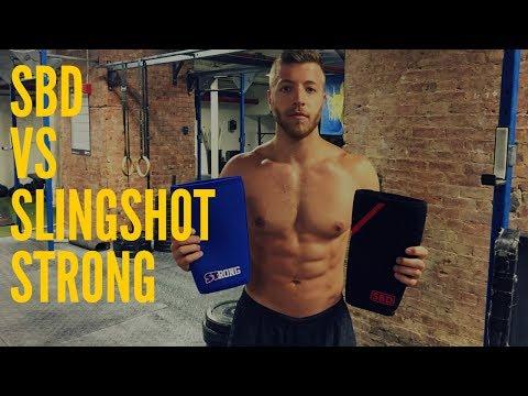 SBD vs Slingshot STrong Knee Sleeves